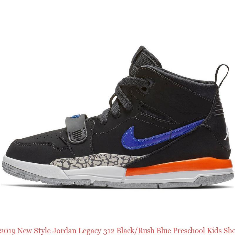 timeless design 6ea01 11df5 2019 New Style Jordan Legacy 312 Black/Rush Blue Preschool Kids Shoe - air  max shoes 2018 - R0392
