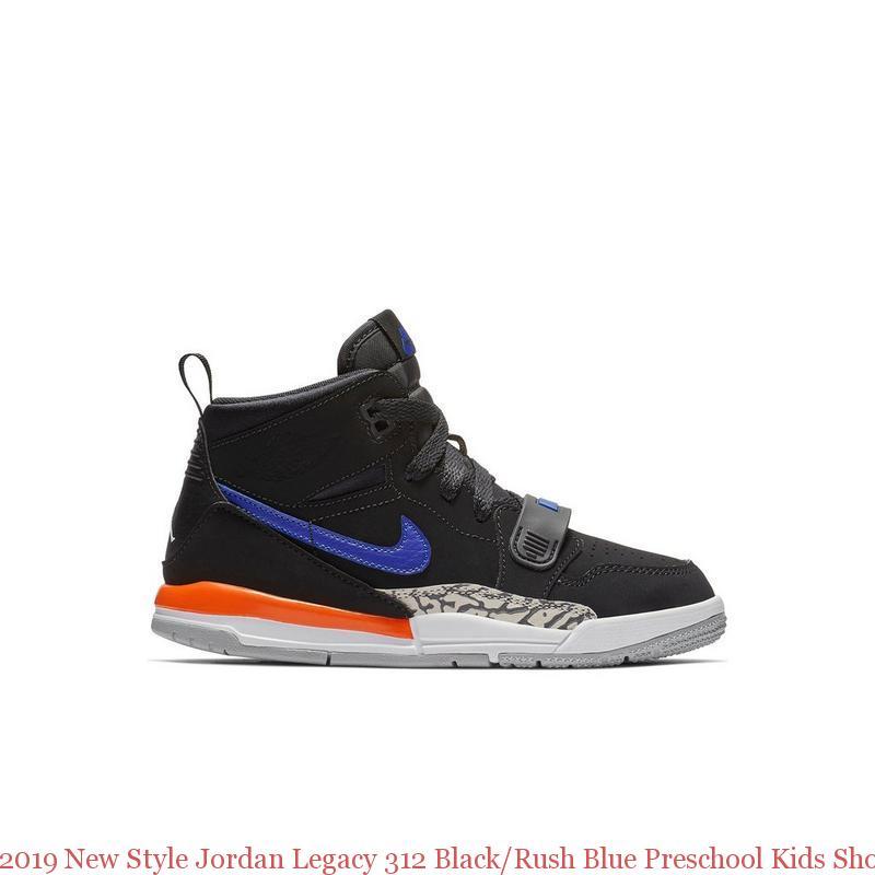 2019 New Style Jordan Legacy 312 Black