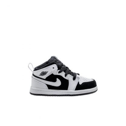 Cheap Off 70 Whiteblack Kids Nike Shoe Toddler Jordan Mid 1 Air A88xdwfqO