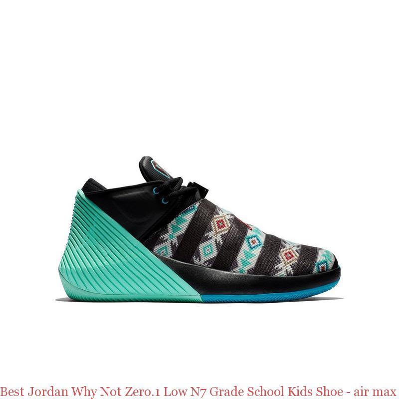 31a79f0f0b3 Best Jordan Why Not Zero.1 Low N7 Grade School Kids Shoe – air max ...