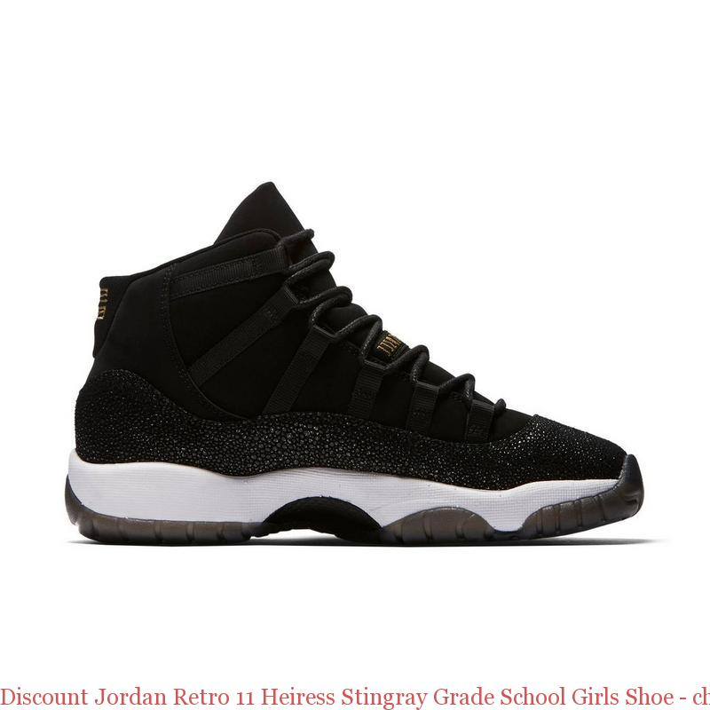 c75cabd2faf75 Discount Jordan Retro 11 Heiress Stingray Grade School Girls Shoe – cheap  jordans mens shoes ...