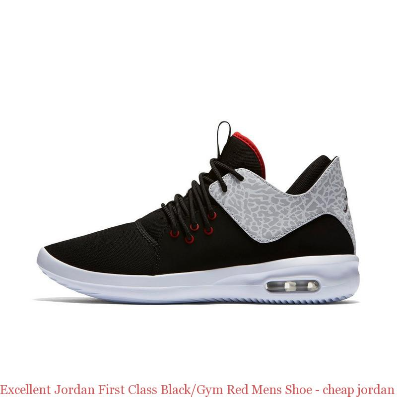 check out c1075 628f5 Excellent Jordan First Class Black Gym Red Mens Shoe ...
