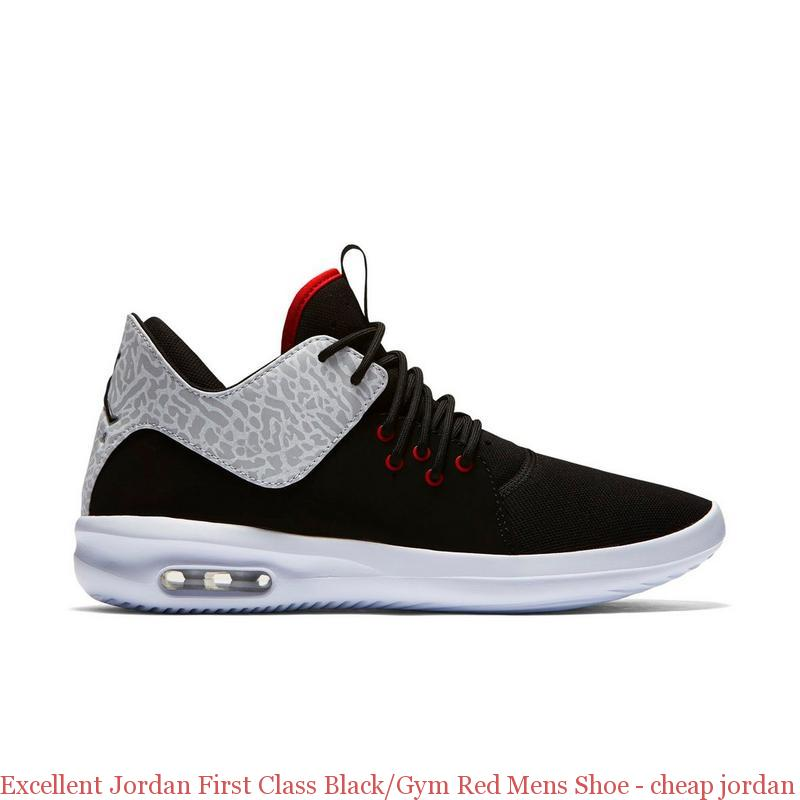 Excellent Jordan First Class BlackGym Red Mens Shoe cheap jordan shoes philippines Q0061BR